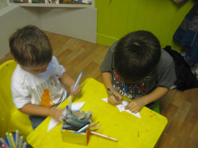 Les enfants ont fait des jeux linguistiques 03