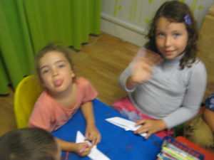 Les enfants ont fait des jeux linguistiques 05