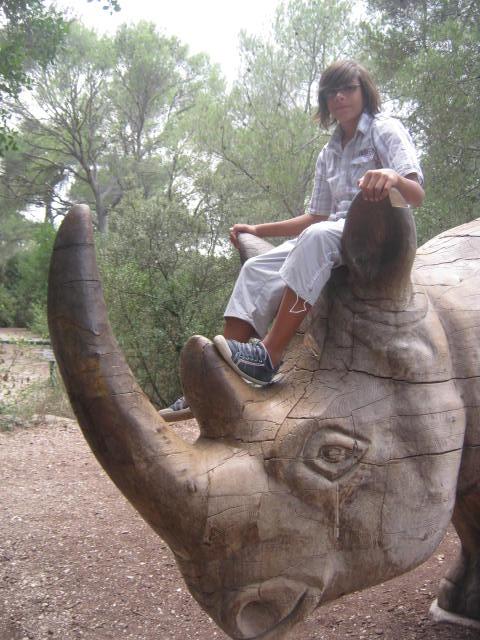 Montpellier - Les ados ont parlé anglais au zoo (10)