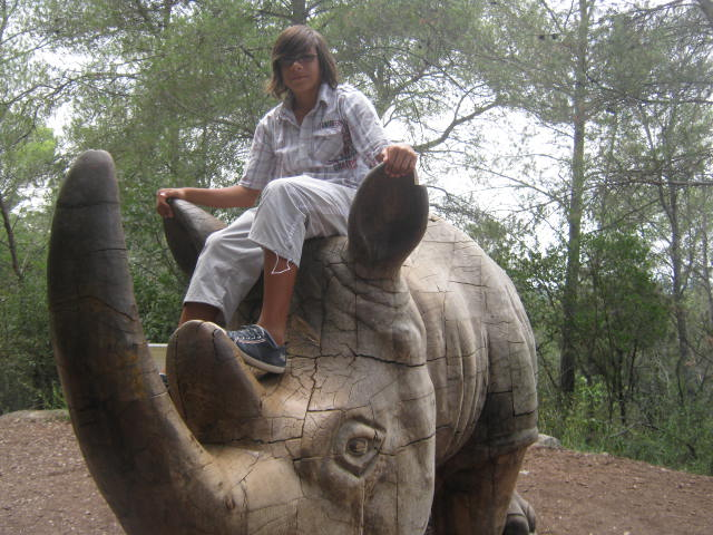 Montpellier - Les ados ont parlé anglais au zoo (11)