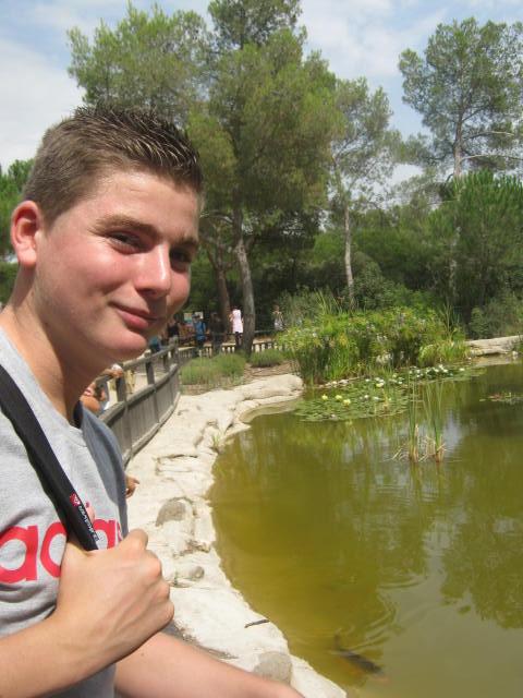 Montpellier - Les ados ont parlé anglais au zoo (18)
