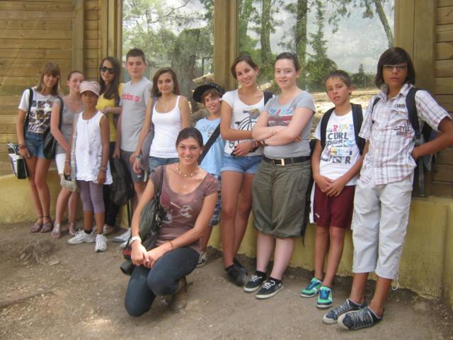 Montpellier - Les ados ont parlé anglais au zoo (5)
