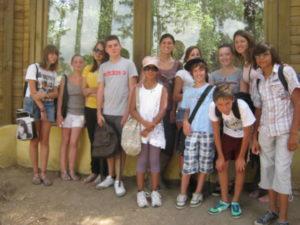 Montpellier - Les ados ont parlé anglais au zoo (9)