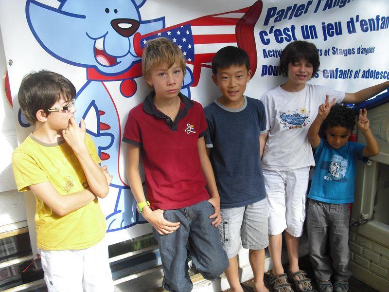 Classe d'anglais pour enfants à Montpellier