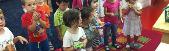 Les enfants ont parlé maison en anglais