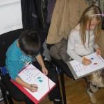 Enfants cours d'anglais