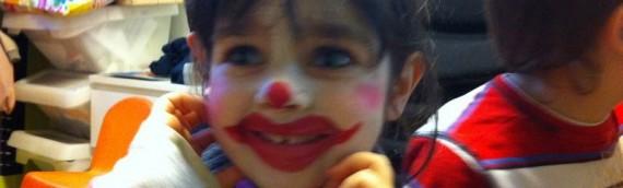Les enfants visitent le cirque en Anglais