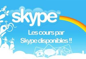 Le cours d'anglais pour enfants par skype (chat vidéo)