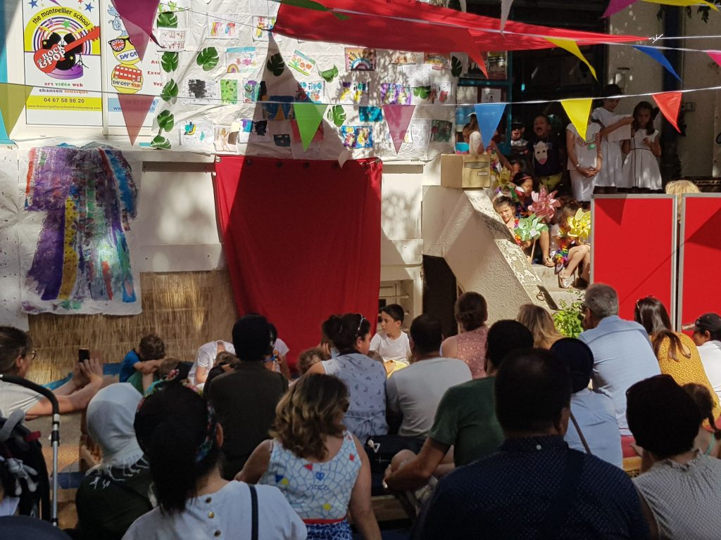 Spectacle en anglais par les enfants à Montpellier