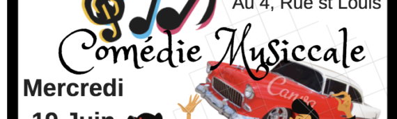 Comédie Musicale – Save the Date!