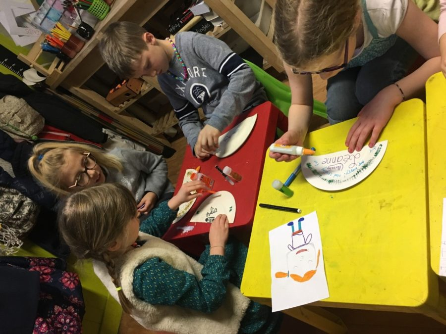 Les enfants apprennent l'anglais à Montpellier pendant les vacances scolaires