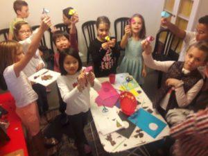 Les enfants apprennent l'anglais à Montpellier