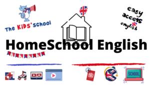 Cours d'anglais pour enfants à la maison