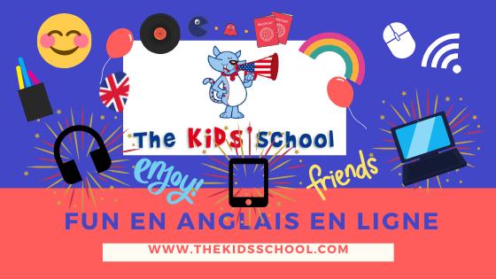 Activités en anglais en ligne pour enfants