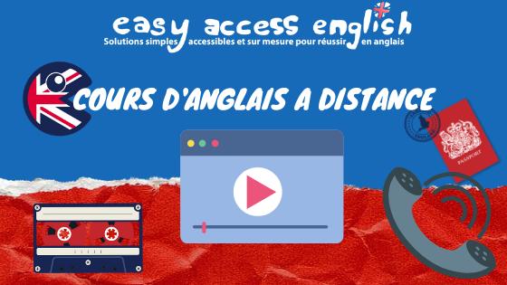 Cours d'anglais à Distance