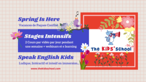 Ateliers en anglais pour enfants par vidéo
