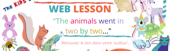 Web Lesson – The animals went in two by two