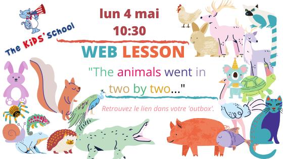 Cours d'anglais par vidéo pour enfants
